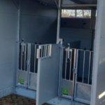 Huisvesting jongvee - Duo flex box met dak