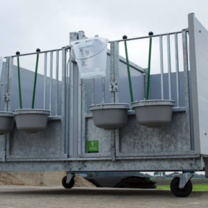 Topcalf duo-flex hutch (UK)